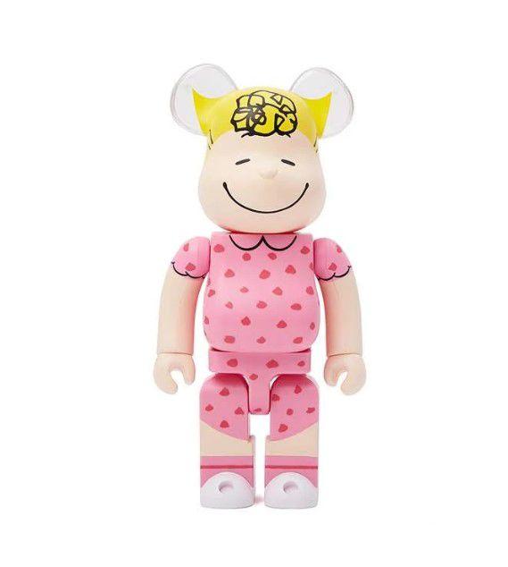 Medicom Toy x Peanuts - Bearbrick 100% Sally Brown