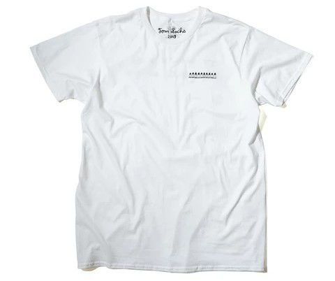 "TOM SACHS - Camiseta Ten Bullets ""Branco"" -NOVO-"