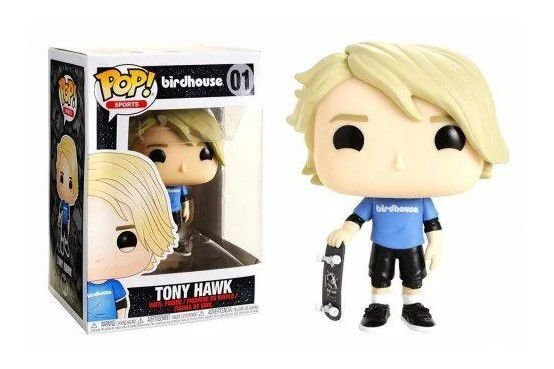 !FUNKO POP - Boneco Tony Hawk #01 (SEM EMBALAGEM) -NOVO-