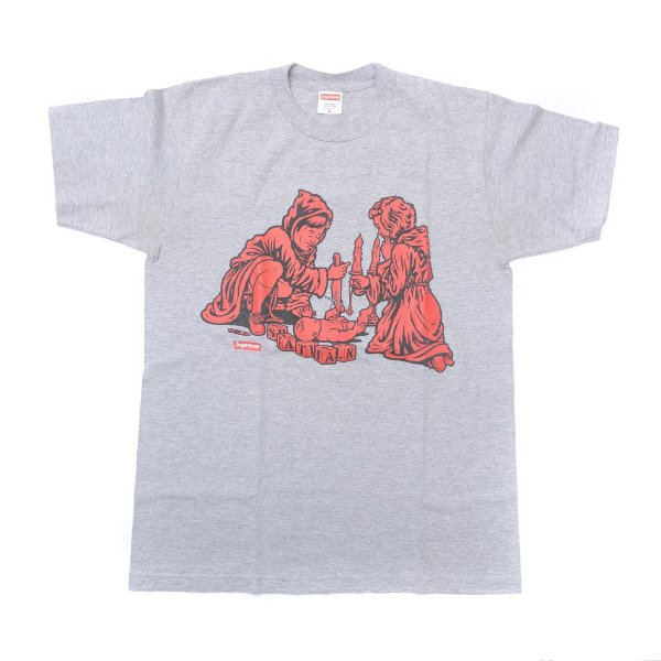 "SUPREME x SEAN CLIVER - Camiseta Dick And Jane ""Cinza"" -USADO-"