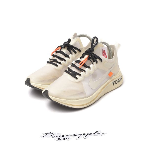 "NIKE x OFF-WHITE - Zoom Fly ""White"" -USADO-"