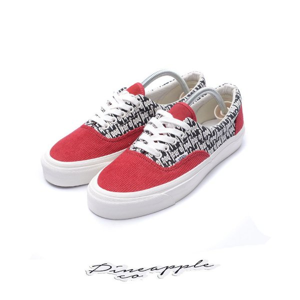 "VANS x FEAR OF GOD - Era 95 DX ""Red"" -NOVO-"