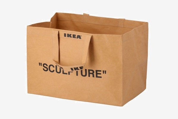 "IKEA X VIRGIL ABLOH - Ecobag ""Sculpture"" (Grande)"