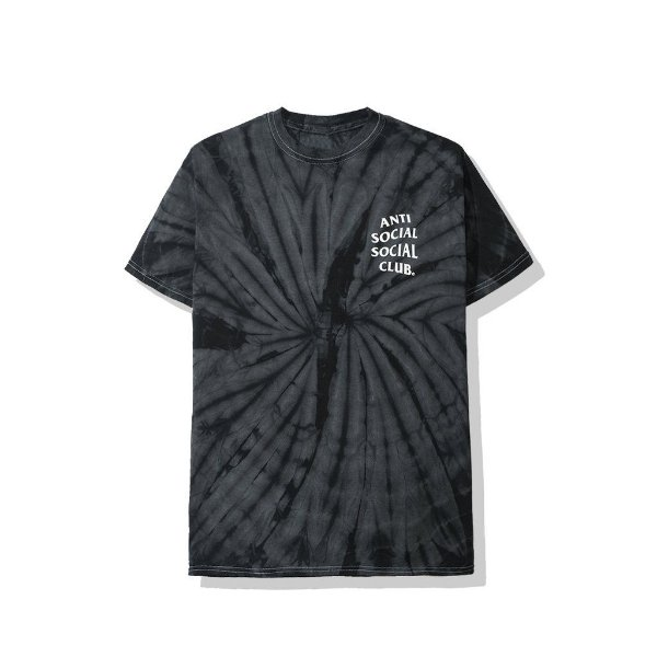 "ANTI SOCIAL SOCIAL CLUB - Camiseta Laguna Tie Dye ""Preto"" -NOVO-"