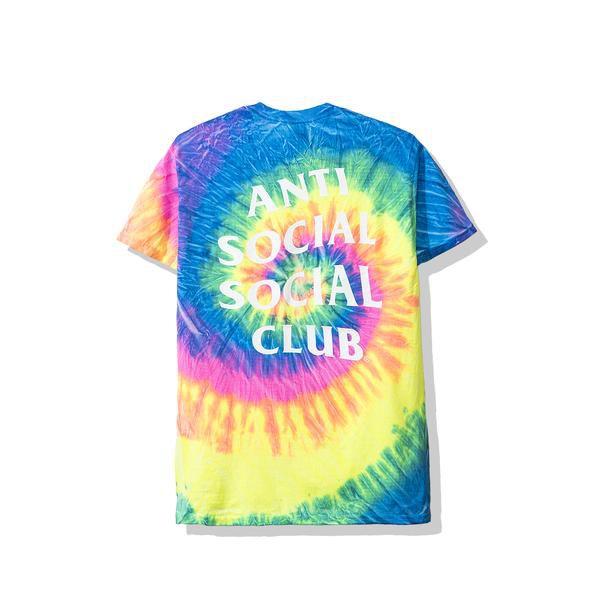 "ANTI SOCIAL SOCIAL CLUB - Camiseta Laguna Tie Dye ""Rainbow"" -NOVO-"