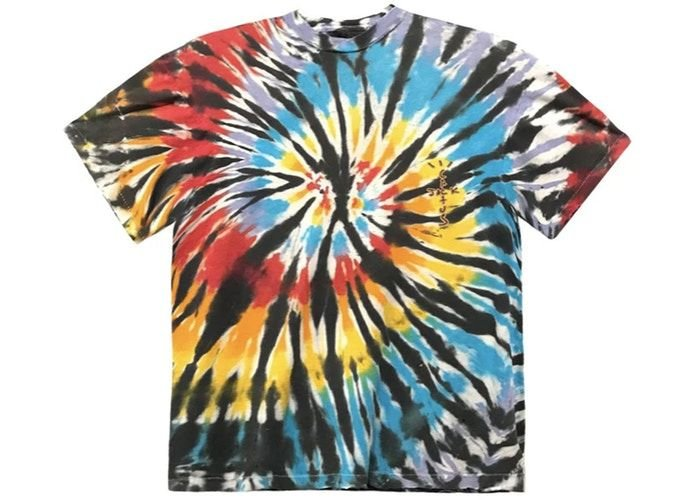 "TRAVIS SCOTT - Camiseta Highest In The Room ""Tie Dye"" -NOVO-"