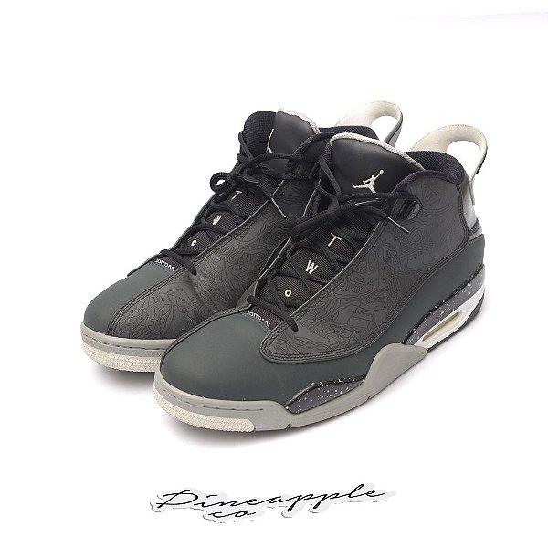 "NIKE - Air Jordan Dub Zero ""Classic Charcoal"" -USADO-"