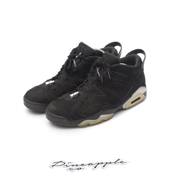 "NIKE -  Air Jordan 6 Retro Low ""Chrome"" -USADO-"