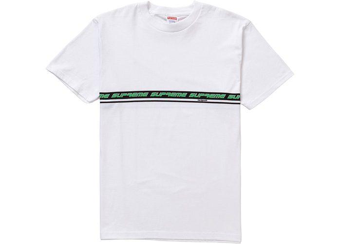 "SUPREME - Camiseta Hard Goods ""Branco"" -NOVO-"