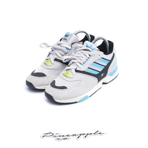 "ADIDAS - ZX4000 OG ""Grey One/Bright Cyan"" -NOVO-"