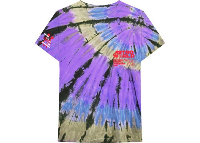 """TRAVIS SCOTT - Camiseta Official Souvenir """"Roxo/Azul/Preto"""" -NOVO-"""