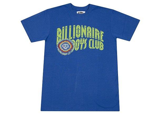 "BILLIONAIRE BOYS CLUB - Camiseta Tie Dye Arch ""Azul"" -NOVO-"