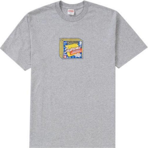 "SUPREME - Camiseta Cheese ""Grey"""