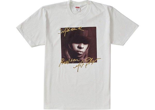 "SUPREME - Camiseta Mary J. Bleige ""White"""