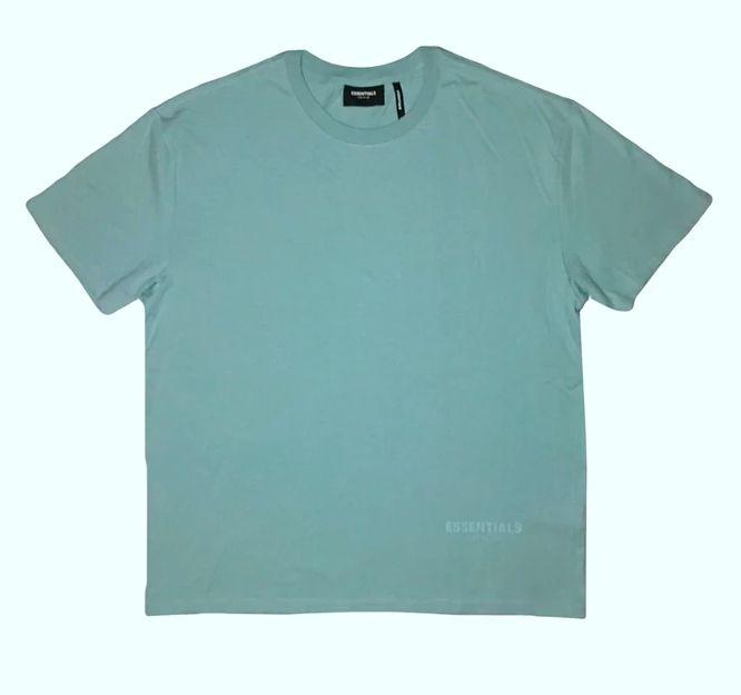 """FOG - Camiseta Essentials 3M Logo Boxy """"Verde Água"""" -NOVO-"""
