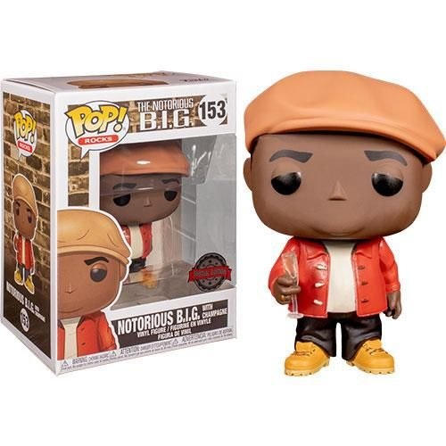 FUNKO POP! - Boneco The Notorious B.I.G  #153 -NOVO-