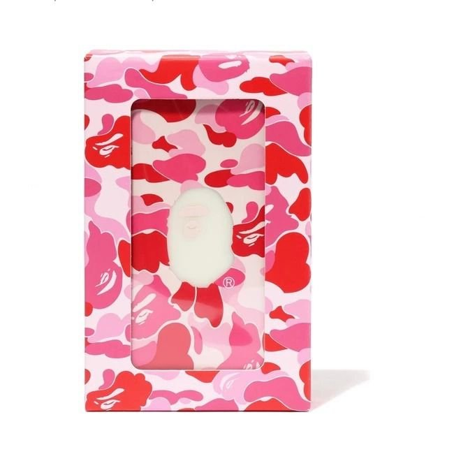 "BAPE - Power Bank ABC Camo ""Rosa"" -NOVO-"