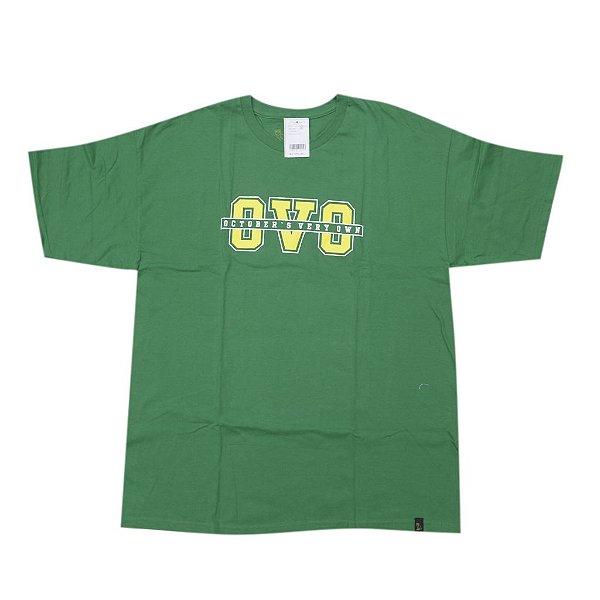 OVO - Camiseta Yellow Logo ''Verde'' -NOVO-