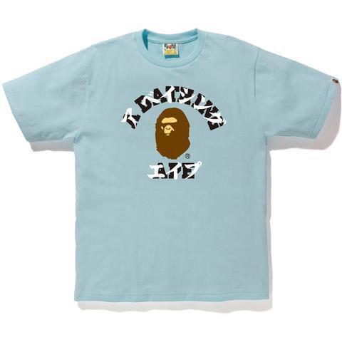 """BAPE - Camiseta Katakana College """"Sax"""""""