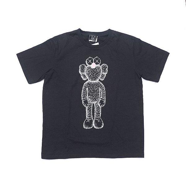 "KAWS - Camiseta Bff Sketch ""Preto"" -NOVO-"