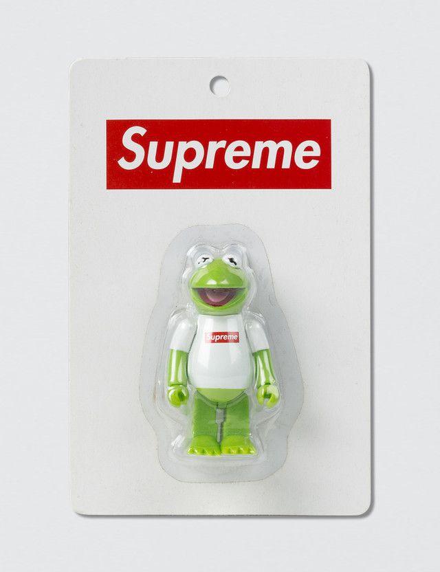 !SUPREME x MEDICOM TOY - Boneco Kermit The Frog Muppets (2008) -NOVO-