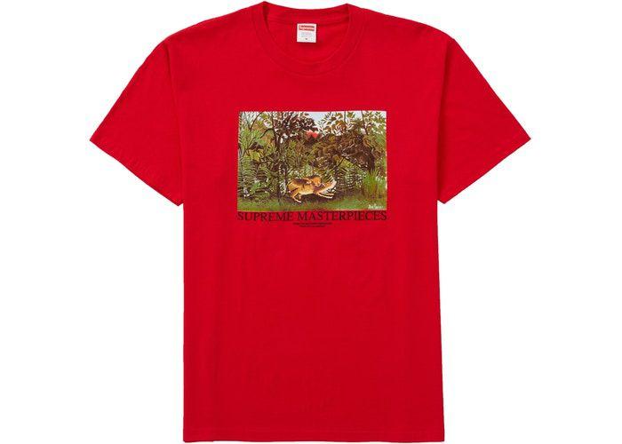 """SUPREME - Camiseta Masterpieces """"Red"""""""