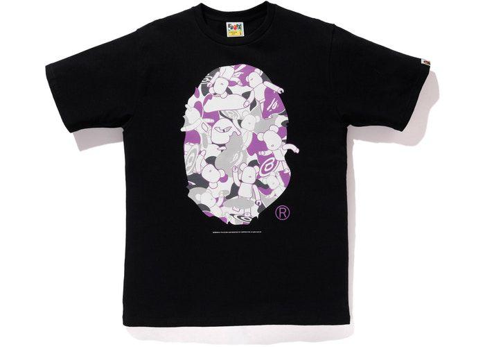 "BAPE x MEDICOM - Camiseta NYC Big Head Bearbrick ""Black"""