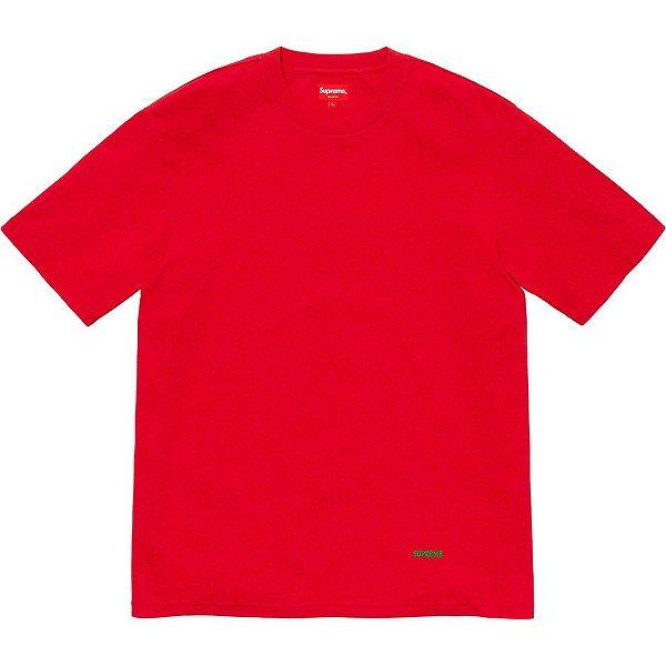 "SUPREME - Camiseta University Top ""Red"""
