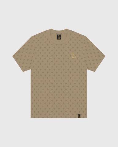 "OVO - Camiseta Logo Monogram ""Khaki"" -NOVO-"