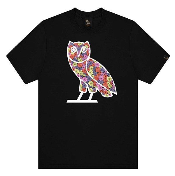 """OVO - Camiseta Celebration Owl """"Preto"""" -NOVO-"""