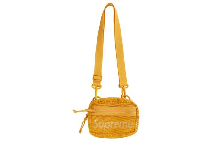 "SUPREME - Bolsa Shoulder Small SS20 ""Gold"""