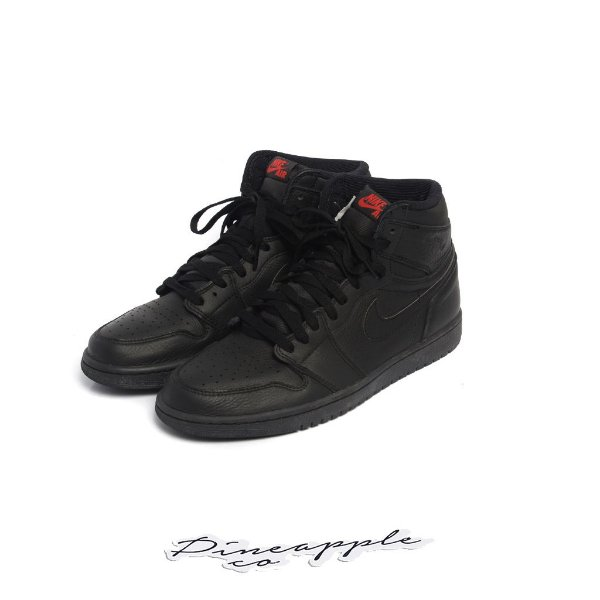 "NIKE - Air Jordan 1 Retro ""Triple Black"" -USADO-"