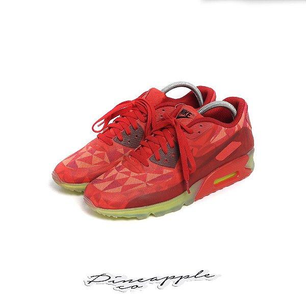 "Nike Air Max 90 ""Ice/Gym Red"" -USADO-"