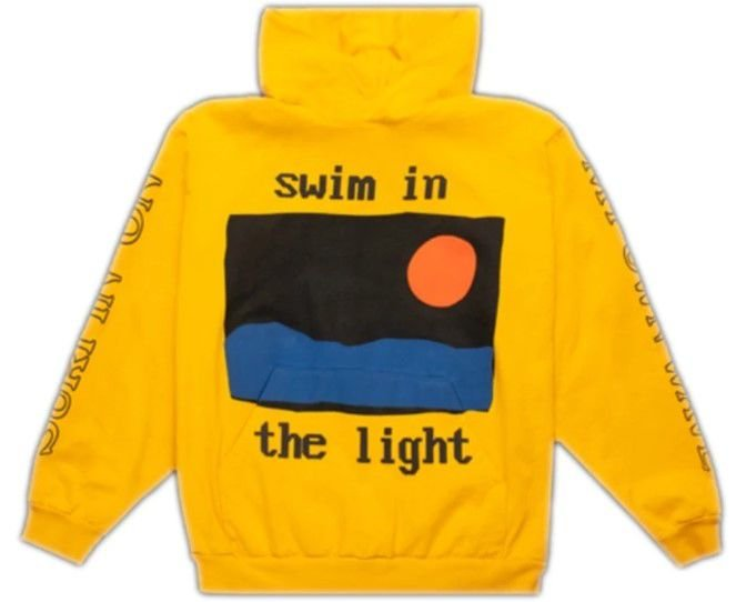 "CPFM x KID CUDI - Moletom Swim In The Light ""Yellow"""