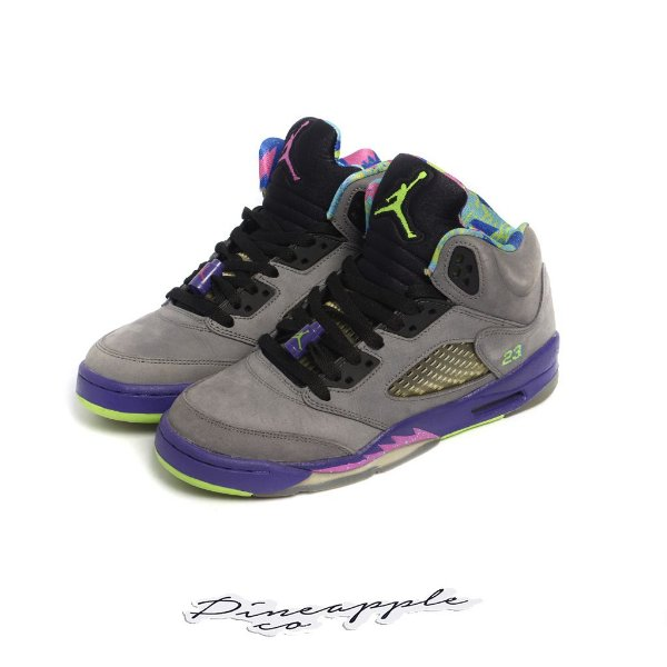 "NIKE - Air Jordan 5 Retro ""Bel-Air"" (Infantil) -USADO-"