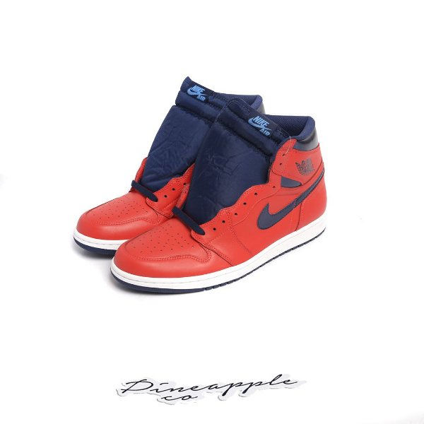 "NIKE - Air Jordan 1 Retro ""David Letterman"" -NOVO-"
