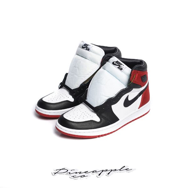 "NIKE - Air Jordan 1 Retro Satin ""Black Toe"" -NOVO-"