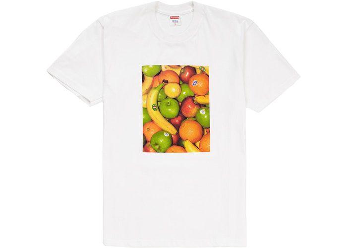 "SUPREME - Camiseta Fruit ""Branco"" -NOVO-"