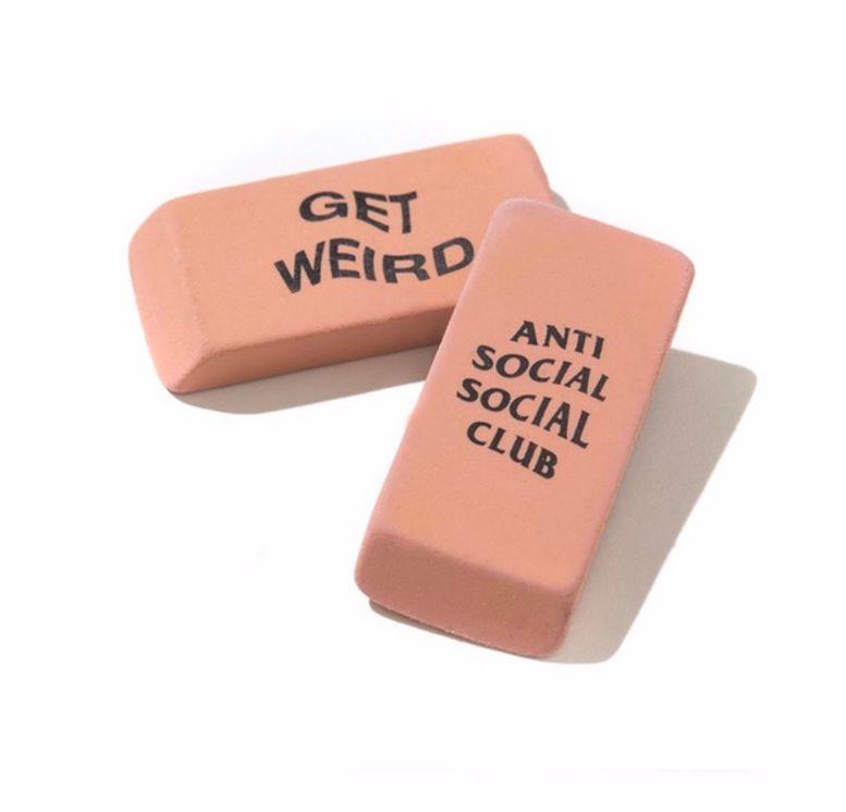 ANTI SOCIAL SOCIAL CLUB - Borracha Get Weird -NOVO-