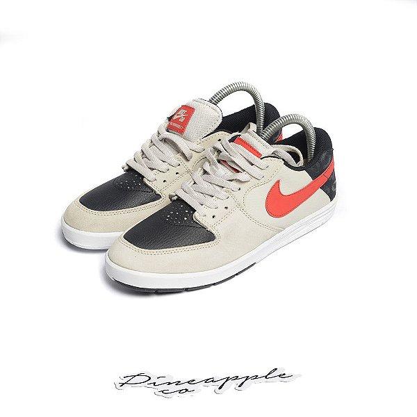 "Nike SB P-Rod 7 ""Light Bone/Crimson"" (Infantil) -NOVO-"