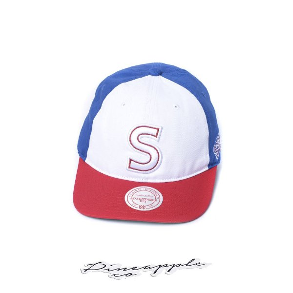 "MITCHELL & NESS - Boné 3 Block Sixers S Logo ""Red/White/Blue"""