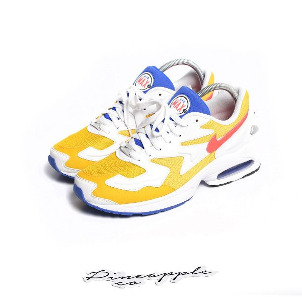 "NIKE - Air Max2 Light ""University Gold/Flash Crimson"" -USADO-"