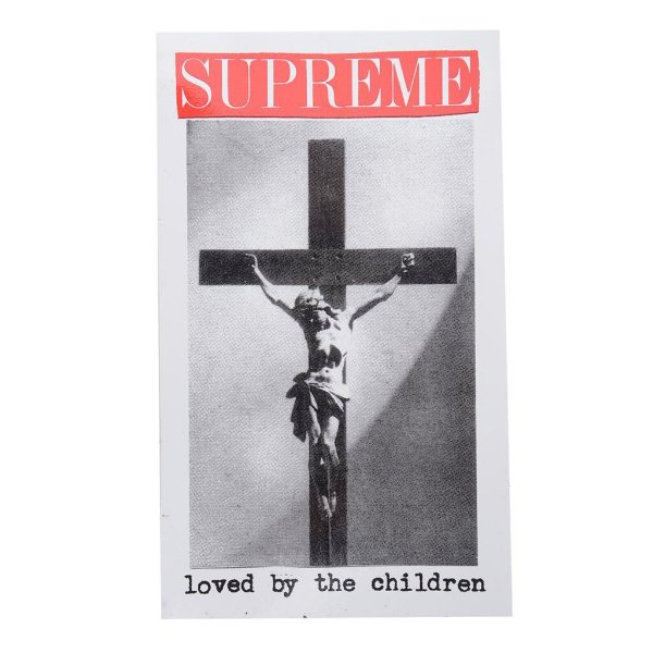 SUPREME - Adesivo SS20 Loved By The Children -NOVO-