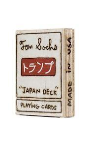 "TOM SACHS  - Baralho ""Japan Deck"" -NOVO-"