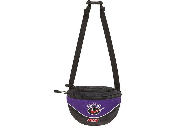 "SUPREME x NIKE - Bolsa Waist Bag SS19 ""Purple"""
