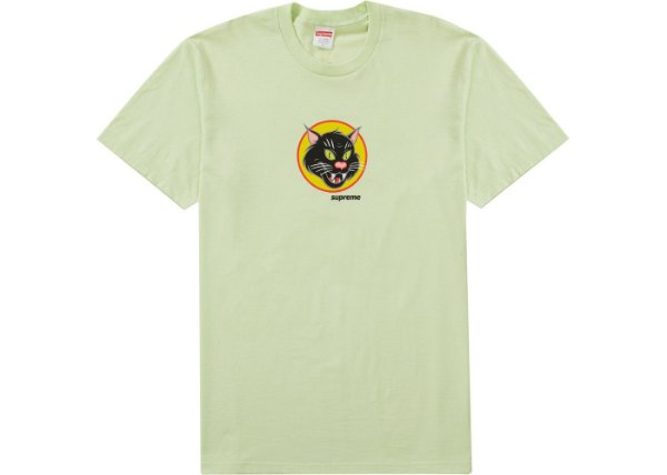 "SUPREME - Camiseta Black Cat ""Menta"" -NOVO-"