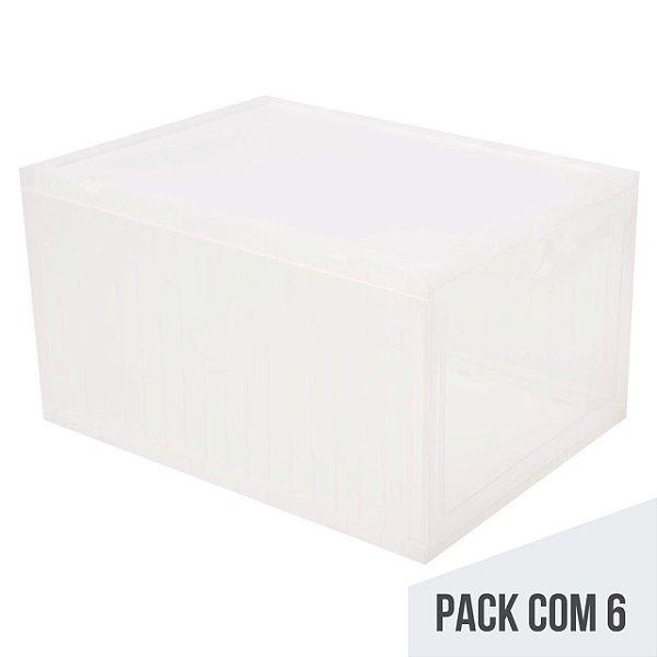 SNEAKERBOX - Caixa Plástica para Armazenamento (PACK COM 6)