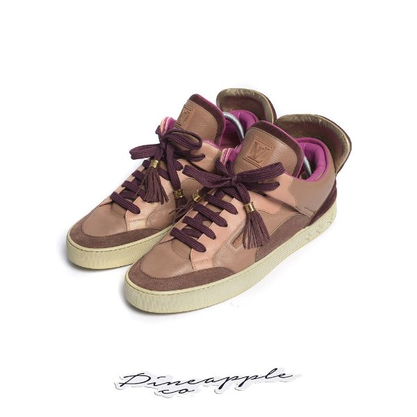 """LOUIS VUITTON x KANYE WEST - Dons """"Patchwork"""" (43 BR / 10 LV) -USADO-"""