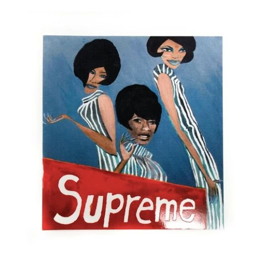 SUPREME - Adesivo FW18 Taboo Group Singing Ladies -NOVO-