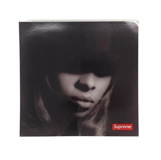 SUPREME - Adesivo FW19 Mary J Blige -NOVO-